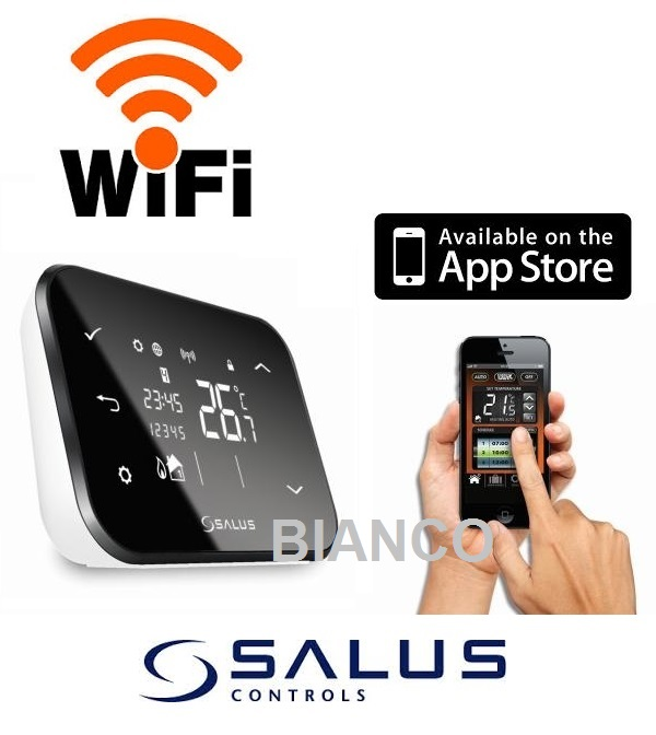 Termostat Salus iT500 WiFi si control prin internet