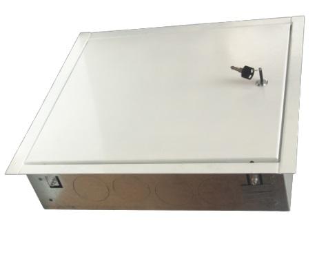 Caseta metalica distribuitori - colectori 800 x 450