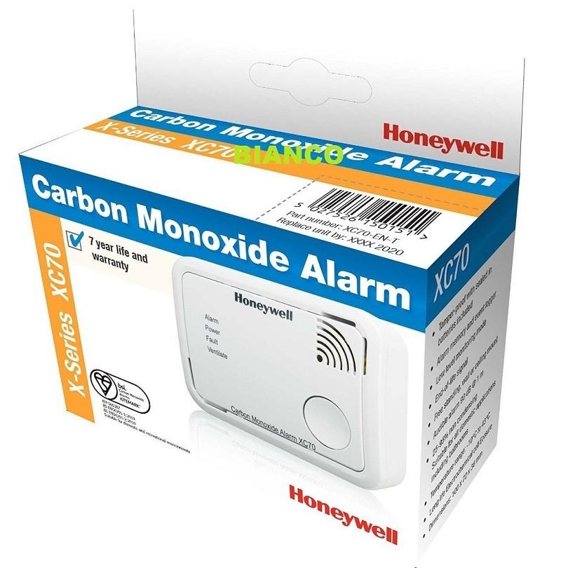 Alarma de monoxid de carbon Honeywell XC70