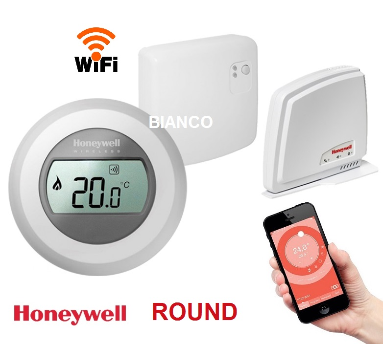 Termostat de ambient WiFi Honeywell Y87RFC Connected