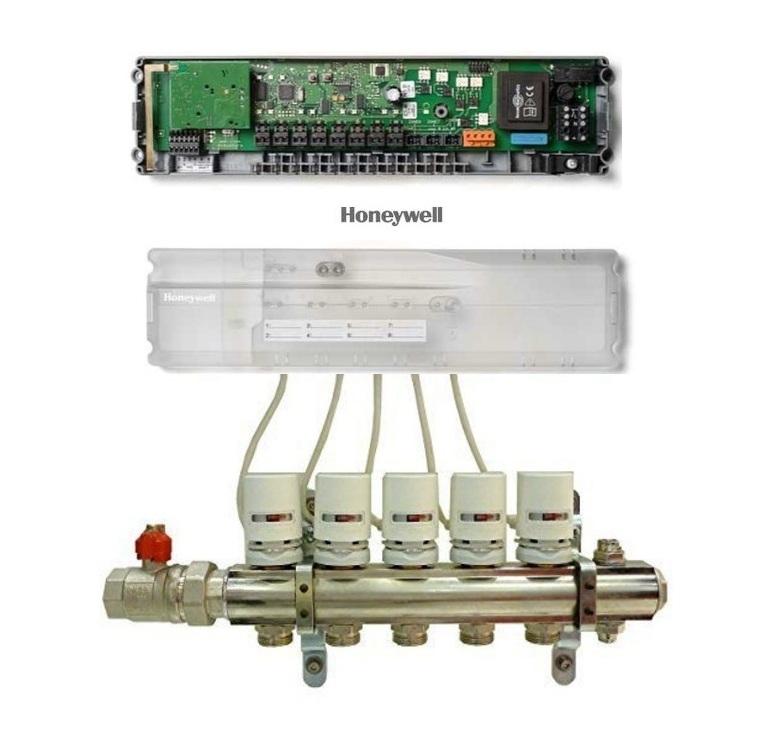 Honeywell HCC80 controler wireless pentru incalzirea in pardoseala