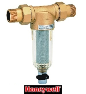 Filtru lavabil 1/2 cu sita din inox si purjare Honeywell