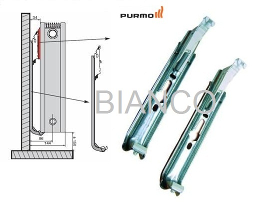 Calorifer Purmo Ventil Compact VC 22-450-1200