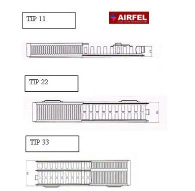 Calorifer din otel Airfel 22/400/600