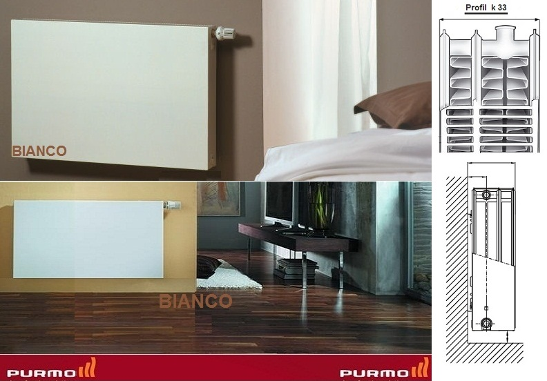 Calorifer Purmo Plan Compact FC 33x600x1200