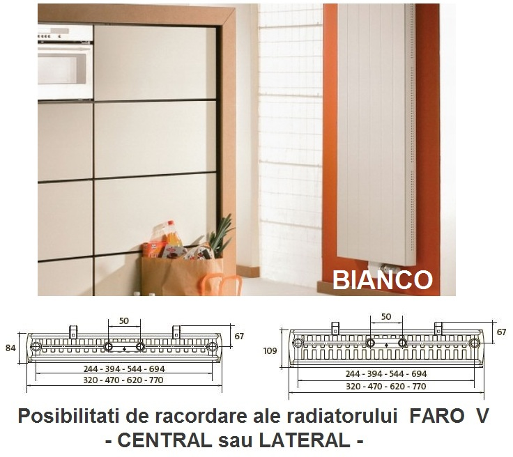 Calorifer Purmo FARO V 21x1950x750