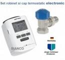 Set robinet si cap termostatic electronic Jurgen Schlosser