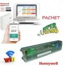 PACHET Honeywell EvoHOME cu HCC80 pentru comanda centralei si a incalzirii in pardoseala