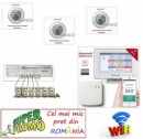 Kit incalzire in pardoseala Honeywell WiFi pentru 6 circuite si 3 zone