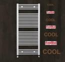 Calorifer din aluminiu pentru baie Fondital COOL 600x1160