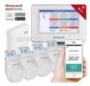 Honeywell EvoHOME - comanda multizona pentru centrala si 4 calorifere