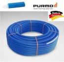 Purmo teava PEX izolata 16x2 colac 100 m cu izolatie albastra
