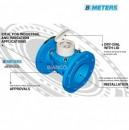 Contor apa rece cu flansa BMeters WDE-K tip Woltman clasa B DN 200