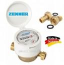 Apometru de apa rece 1/2, ZENNER ETKD-M, clasa C