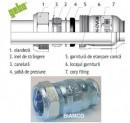 Racord GEBO pentru imbinari rapide 3/8 FI