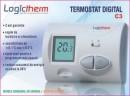 Logictherm C3 termostat de ambient cu fir